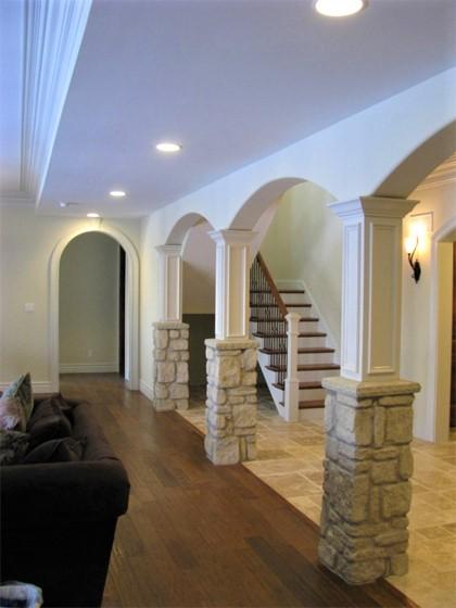 Basement arch